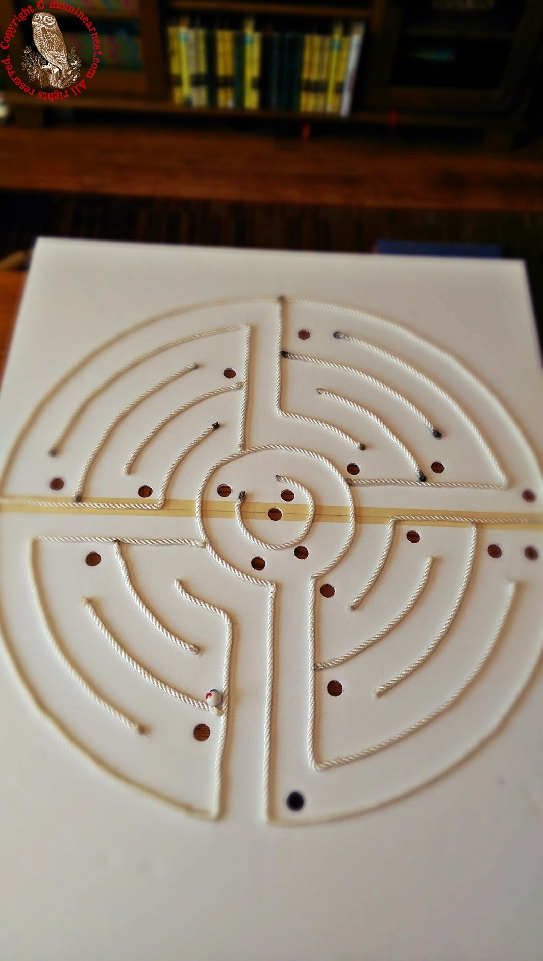 completed labyrinth